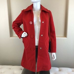Authentic Marc Jacobs Red Trech coat